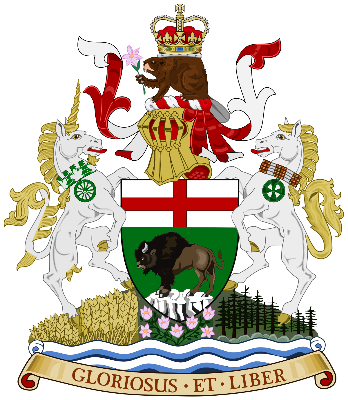 Manitobia Coat of Arms